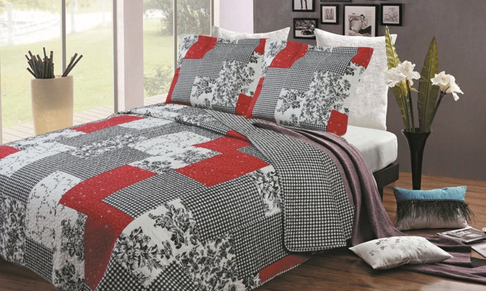 Home & Main Reversible Printed Quilt Sets: Home & Main Reversible Printed Quilt Set in Multiple Sizes from $32.99–$39.99. Multiple Designs Available. Free Returns.
