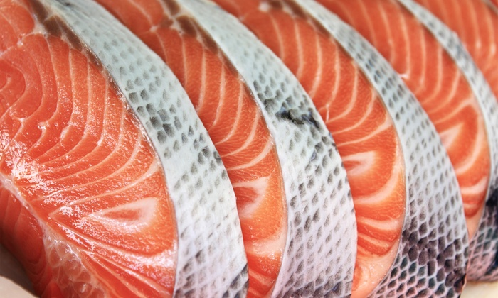 Fins Market & Grill - Multiple Locations: $14.49 for $20 Worth of Fresh, Raw Seafood for Takeout at Fins Market & Grill