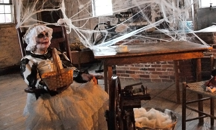 Canterbury Shaker Village - Canterbury: Admission for One Adult or Child to the Ghost Encounters Event at Canterbury Shaker Village (Up to 25% Off)