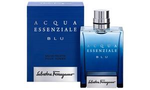 Salvatore Ferragamo Acqua Essenziale Blu Eau De Toilette For Men; 3.4 Oz