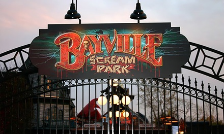 Two or Five Haunted Attractions for Two with VIP Speed Pass at Bayville Scream Park (Up to 52% Off)