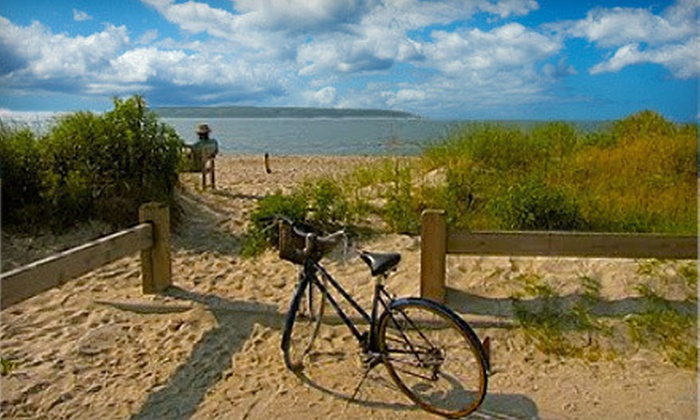 North Fork Bike Tours and Pour & Pedal Bike Tours - Multiple Locations: Winery Bike Tour for One or Two from North Fork Bike Tours and Pour & Pedal Bike Tours (Up to 62% Off)