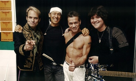Van Halen: Live on Tour with Special Guest Kenny Wayne Shepherd Band on September 17 at 7:30 p.m.