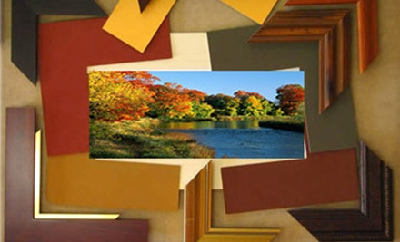 Custom Framing at Double Wings Art (Up to 71% Off). Two Options Available.