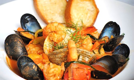 $25 for $40 Towards a French Dinner for Two or More at L'Eiffel Bistrot & Creperie