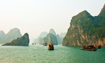 Groupon Deal: 8-Day Tour of Vietnam with Round-Trip Airfare from Friendly Planet Travel. Price/Person Based on Double Occupancy.