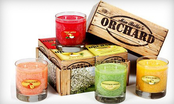 Mia Bella: Candles, Beauty, and Bath Products Online from Mia Bella (Up to 55% Off). Two Options Available.