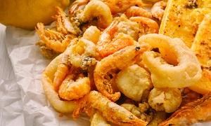 Ristorante Carmantò: Menu di pesce in 4 portate e bottiglia di vino