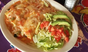 Laredo's Tex-Mex Cafe: Tex-Mex Food at Laredo's Tex-Mex Cafe (Up to 47% Off). Two Options Available.
