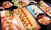 Hanafubuki Sushi - West End, Downtown Vancouver: $22 for a Five-Course Sushi Meal for Two at Hanafubuki Sushi ($45.50 Value)