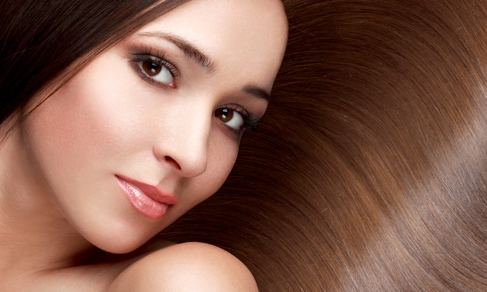 Mel's Hair Zone - Mill Lake: Haircut, Blow-Dry, Style, and Deep-Conditioning with Optional Color or Highlights at Mel's Hair Zone (Up to 74% Off)