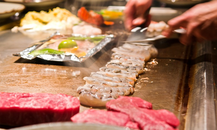 TJ Thai and Japanese Steakhouse - Harrison: $15 for $25 Worth of Hibachi Fare at TJ Thai and Japanese Steakhouse