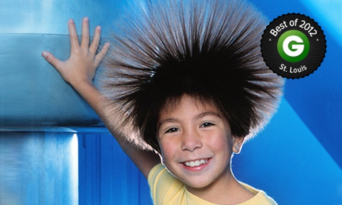 The Magic House - Saint Louis: $75 for a One-Year Family Museum Membership Package at The Magic House ($150 Value)