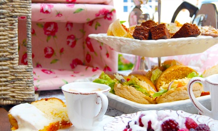 Sparkling Afternoon Tea For Two (£24.90) or Four (£46) at Other Cafe and Gallery