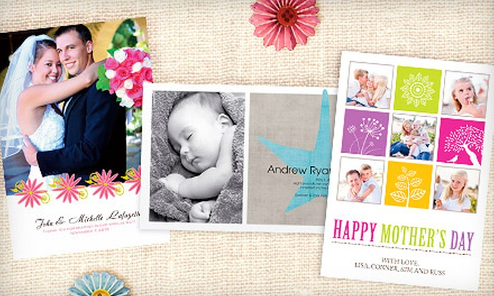 PhotoCardsDirect.com: $15 for $50 Worth of Custom Photo Greeting Cards from PhotoCardsDirect.com