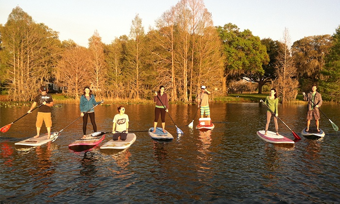 Haole Paddle Board - Multiple Locations: 90-Minute Standup-Paddleboarding Rental for One or Two from Haole Paddle Board (Up to 49% Off)