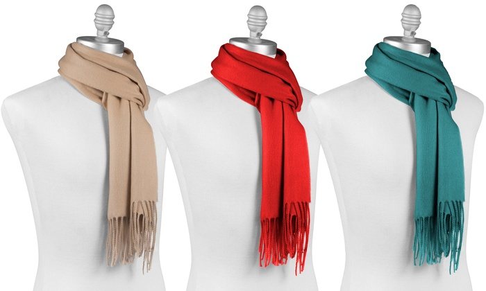 05a7b5bcc Up To 60% Off on Women's Cashmere Scarf | Groupon Goods