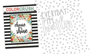 Color Crush: An Adult Coloring Book for the Modern Girl