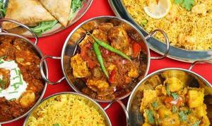 Taj Mahal: Indisches 3-Gänge-Menü für 1, 2 oder 4 Personen im Restaurant Taj Mahal (37% sparen*)