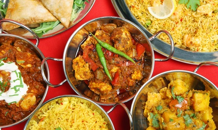 Lunch Buffet for Two, Dinner Buffet for Two or Four with Drinks at Kama Classical Indian Cuisine (Up to 55% Off)