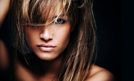 Haircut with Option for Colour at Harlingten's of London Hair Design (Up to 55% Off)