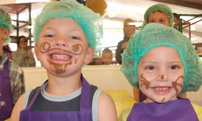 Childrens Chocolate Workshop The Cocoabean Company Groupon