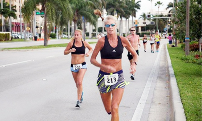 Sunshine State Races - Downtown West Palm Beach: Sunshine State Races Half Marathon or 5K Race Registration (Up to Half Off)
