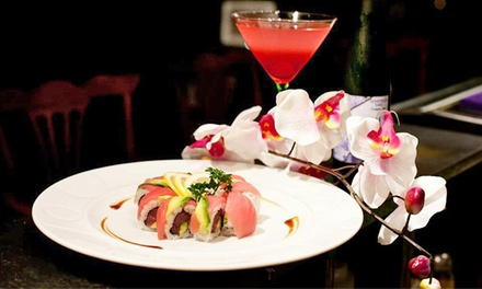 Sushi and Japanese Food at Mijuri Sushi Bar & Grill. Two Options Available.