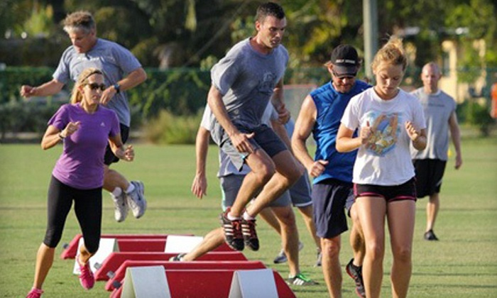 Ground Zero Fitness - Delray Beach: Five or Ten Outdoor Boot-Camp Classes at Ground Zero Fitness (Up to 70% Off)