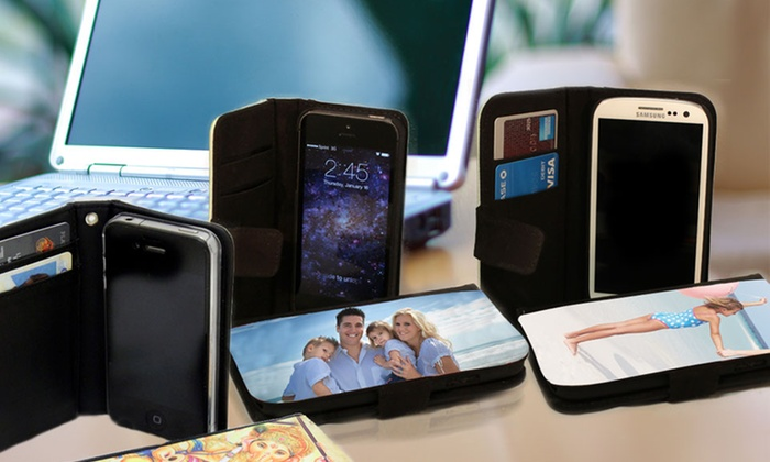 Picture It On Canvas: Custom Phone Wallet Case from Picture It On Canvas (Up to 60% Off). Four Options Available.