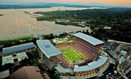 Facility Rental from University of Washington Athletics (Up to 33% Off). Three Options Available.