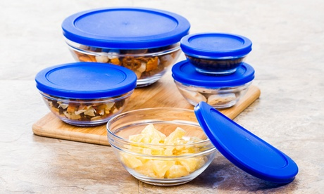 Snack Size Glass Bowl with Tight Lids Set (5-Piece) db6a6092-56a0-11e7-8bf9-00259069d7cc