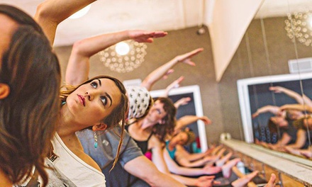 Yoga and Barre Classes at Above the Barre X (Up to 67% Off). Five Options Available.