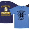 Men's Bachelor Party Tees