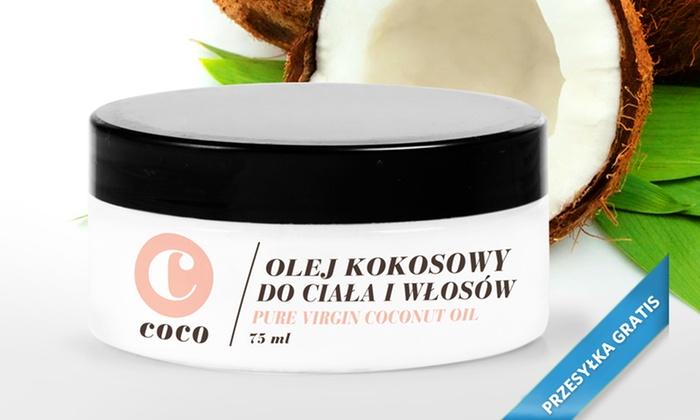 Cooco: Od 33 zł: nawet 6 sztuk ekologicznego oleju kokosowego upiększającego skórę i włosy z przesyłką (-34%)