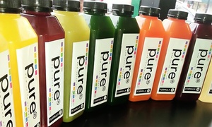 Pure Food and Drink: Two- or Three-Day Raw Organic Juice Cleanse from Pure Food and Drink (41% Off)