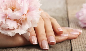 Haute Nail Spa: Two No-Chip Manicures or Two Regular Mani-Pedis at Haute Nail Spa (50% Off)