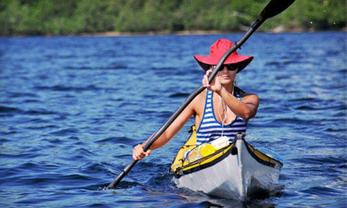 Grand Prairie Parks & Rec - Lynn Creek Park: Half- or Full-Day Kayak or Canoe Rental at Grand Prairie Parks & Rec (Up to 51% Off)