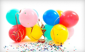 Air Lollipops: 20 Balloons, 4 Balloon Centerpieces, 8 Balloon Centerpieces, or a Balloon Arch from Air Lollipops (Up to 71% Off)
