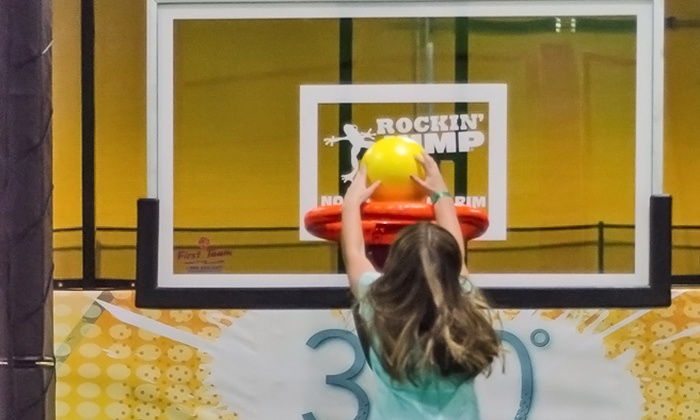 Rockin' Jump - Gaithersburg: One Hour of Jump Time for Two, Four, or Six at Rockin' Jump (Up to 50% Off)