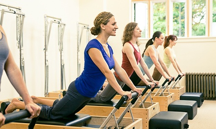 4 or 10 Small-Group Reformer Classes at Vitality Pilates Studio (Up to 76% Off)