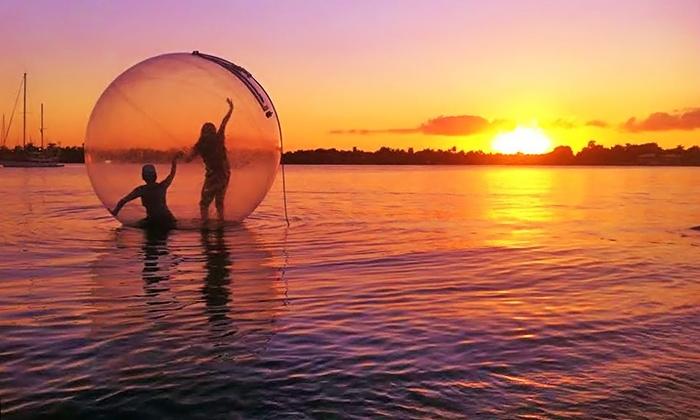 Hollywood Beach Bubble: $31 for an Aquatic Bubble Session for Two from Hollywood Beach Bubble($50 Value)