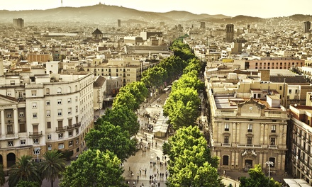 groupon daily deal - ✈ 7-Day Vacation in Paris and Barcelona with Airfare from go-today. Price/Person Based on Double Occupancy.