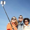 Lax Bluetooth Selfie Stick with Built-in Power Bank and Flashlight