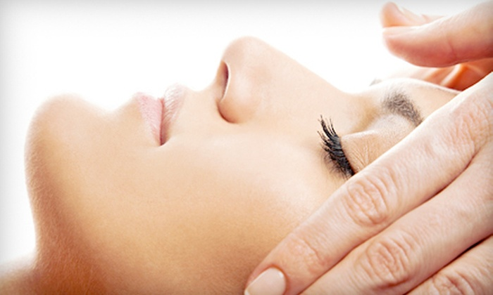 Nails by Lois Salon and Day Spa - Amityville: Microcurrent Facial, Microdermabrasion Facial, or Microcurrent Diamond-Peel Facial at Nails by Lois Salon and Day Spa (Up to 57% Off)