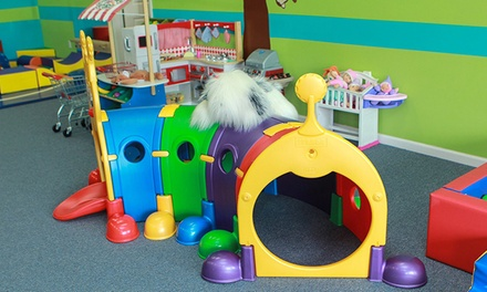 Open Play or Mommy & Me Classes at Monkeydoodles Playroom (Up to 63% Off). Five Options Available.