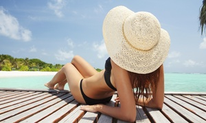 Skinny Me Detox Spa: A Custom Airbrush Tanning Session at Skinny Me Detox Spa (64% Off)