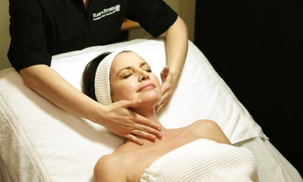 One Swedish Massage, One Signature Facial, or Both at Hand and Stone (Up to 58% Off).