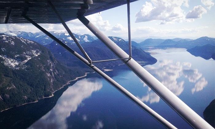 Canadian Flight Centre - Delta: Sightseeing Flights or Charter from Canadian Flight Centre (Up to 39% Off)