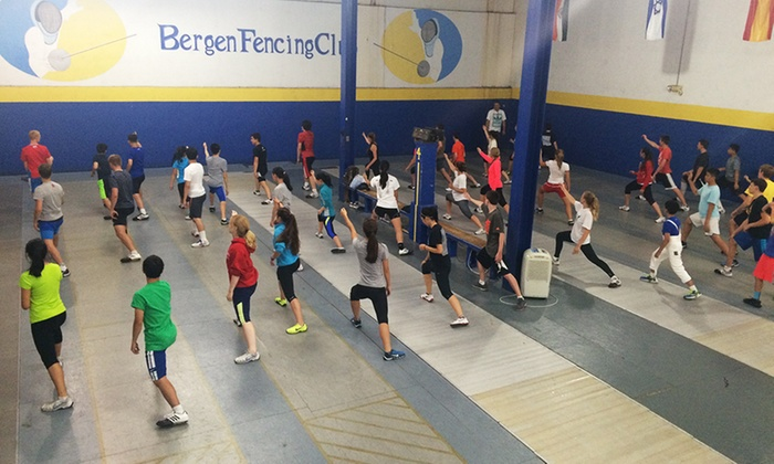 Bergen Fencing Club - Multiple Locations: 4 Introductory Fencing Classes for One or Two Children at Bergen Fencing Club (Up to 88% Off)